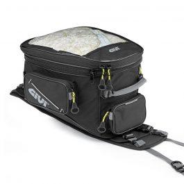 Bolsa de depósito con base específica para moto enduro/trail; 25 Lts