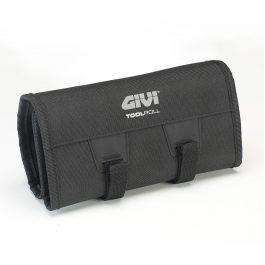 Bolsa enrollable con compartimento porta utensilios y gancho para ser enganchada (compatible con el sistema M.O.L.L.E.). Dimensiones idóneas para colocar en la S250 TOOLBOX