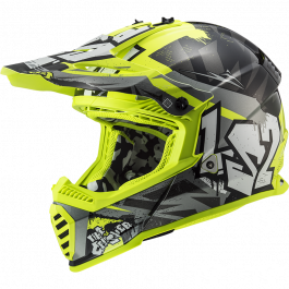 MX437 FAST EVO CRUSHER BLACK HV YELLOW