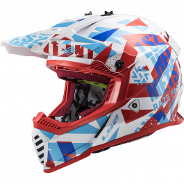 MX437 FAST EVO FUNKY RED WHITE