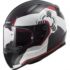 FF353 RAPID GHOST WHITE BLACK RED
