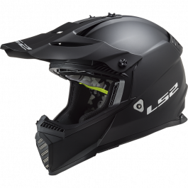 MX437 FAST EVO SOLID MATT BLACK