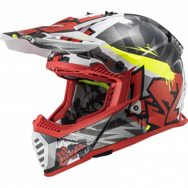 MX437 FAST EVO CRUSHERBLACK RED