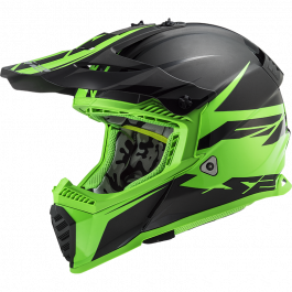 MX437 FAST EVO ROAR MATT BLACK GREEN