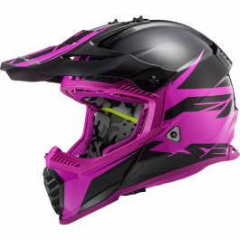 MX437 FAST EVO ROAR MATT BLACK PURPLE