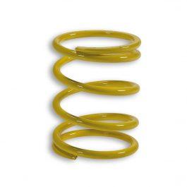 Muelle de polea conducida amarillo (Ø externo 58,7×75 mm – Ø hilo 5 mm – k 13,6)