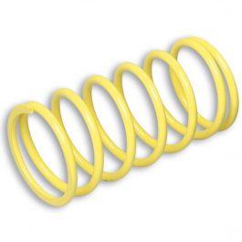 Muelle de polea conducida amarillo (Ø externo 70,5×138 mm – Ø hilo 6 mm – k 9,7)